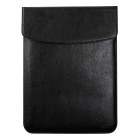"Protective PU Leather Inner Bag Case for MACBOOK 12"" - Black"