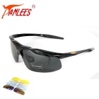 UV400 Protection Anti-Glare Sun Glasses Eyewear w/ Replacement Lenses for Cycling / Fishing & More