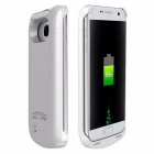 4000mAh Power Bank Back Battery Case for Samsung Galaxy S7 - White