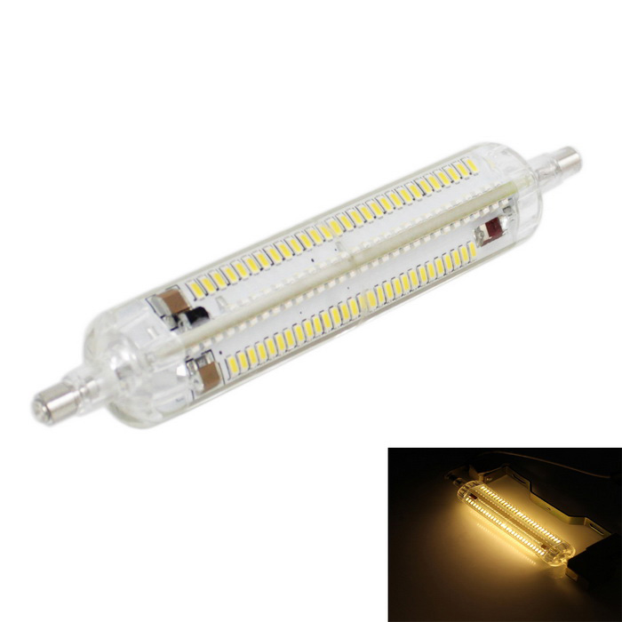 R7S 10W 800lm Warm White Silicone Halogen Lamp (AC 220~240V)