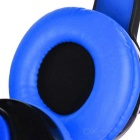 VYKON S99 Bluetooth Headband Sports Headphones w/ TF - Blue + Black