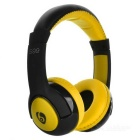 VYKON S99 Bluetooth Headband Sports Headphones w/ TF - Yellow + Black