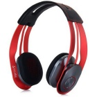 Syllable G700-005 Bluetooth V4.0+EDR Handsfree Headset - Red + Black