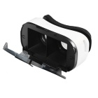 "Virtual Reality 3D Video Glasses for 4~6.5"" Smartphone - White + Black"