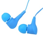 EF-E8 3.5mm In-Ear Stereo Earphones w/ Mic. Handsfree Call - Blue