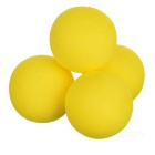 TOURLOGIC Indoor Practice Golf Balls - Yellow (12PCS)