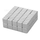 F10 * 10 * 5mm Square NdFeB Magnet - Silver (100PCS)