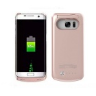 4000mAh Power Bank Back Battery Case for Samsung Galaxy S7 - Rose Gold