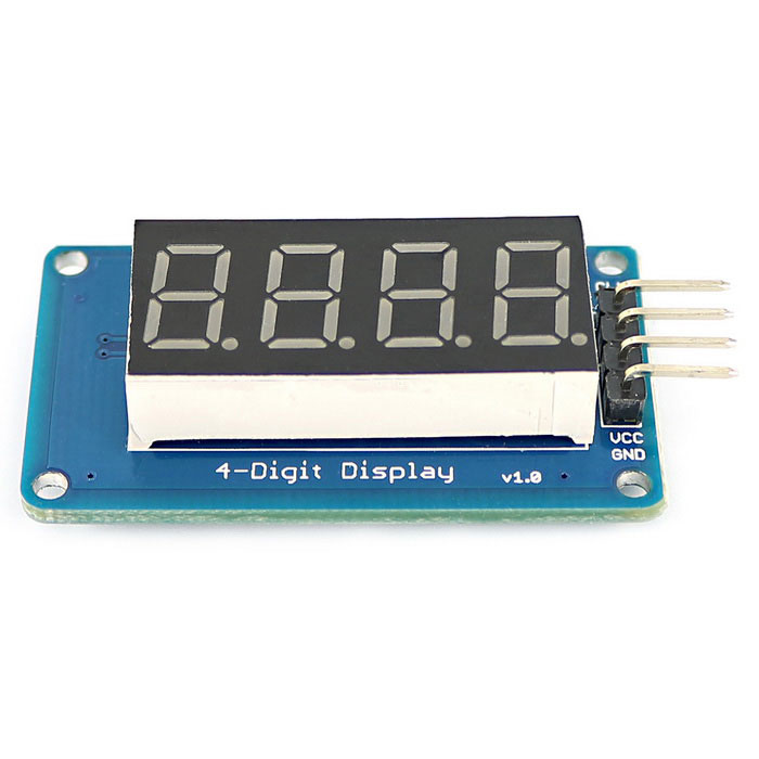 Quot red led digit display module w decimal point for