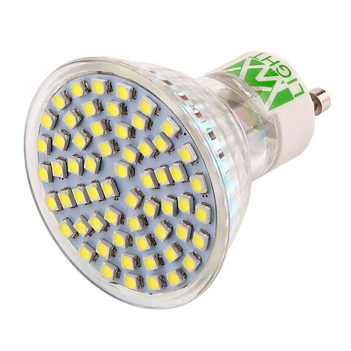 YWXLIGHT GU10 4W 60-3528 SMD Cold White LED Spotlight (AC 220~240V)