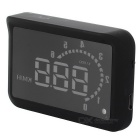H302 Simplified Version Car HUD Head UP Display System - Black