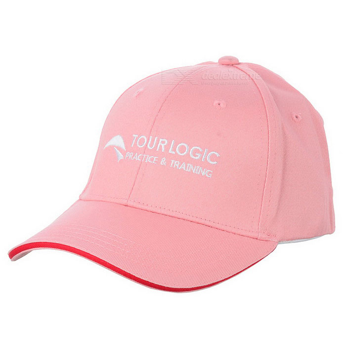 TOURLOGIC TD-LT104H001B Stretchable эластичная ткань Golf Cap - Розовый