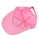 TOURLOGIC TD-LT104H001A Golf Peaked Cap with Velcro Tape - Pink