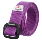 NatureHike Quick-Dry Nylon Belt - Purple (M / 115cm)