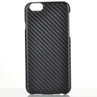 Classic Carbon Fibre Pattern IMD/IML Back Case for IPHONE 6/6S - Black