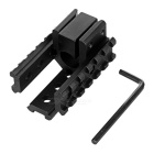Optical mira Rail Laser Mount Lanterna para M16, M4A1 - Black