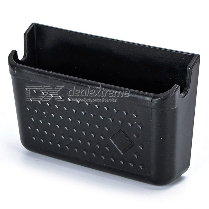Adhesive Car Storage Box-Handy-Halter - Schwarz
