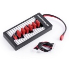 2S-6S Lipo Parallel Charging Board BalanceT Plug - Red