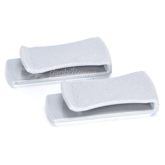 Multifunctional Adhesive Car Clip Hanger - Grey (2PCS)