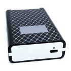 SHENYASHI SYS02 10 Sticks Cigarettes Case & Lighter - Black + White