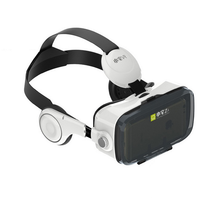 Xiaozai Z4 VR 3D Virtual Reality Headset - White + Black3D Glasses<br>Form  ColorWhite + BlackModelZ4MaterialABSQuantity1 DX.PCM.Model.AttributeModel.UnitShade Of ColorWhiteTypePolarizedPowered ByPower FreeBattery Lifepower free DX.PCM.Model.AttributeModel.UnitPacking List1*Xiaozhai Z3 3D VR Glasses1*Cleaning Cloth1*English user manual<br>