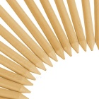 "TOURLOGIC 2 1/8 ""Golf Tees en bois Set - Bois Couleur (100 PCS / S)"