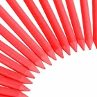 "TOURLOGIC 3 1/4 ""de madera Tee de golf Set - Red (100 PCS / L)"