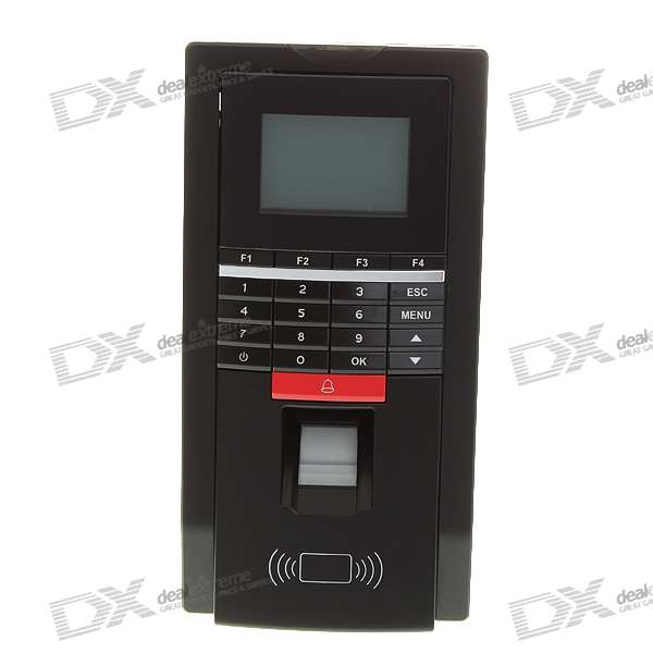 "2.0"" LCD Fingerprint Access Control Time Attendance Door System with TCP/IP/RS485/USB (12V)"
