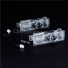 Waterproof 400~500LM Car Courtesy Led Projector Logo Light