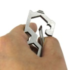 Outdoor Tool Safety Hook Bearing Stainless Steel Carabiner - Prata