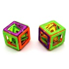 Children's 108 Pieces Magnetic Blocks Educational Toy - Multi-Colored