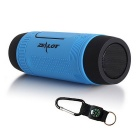 ZEALOT S1 Outdoor Waterproof Bluetooth 4.0 Speaker - Blue