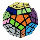 Shengshou Megamix 12 Eixo 3-Rank IQ Magic Cube - Black + MultiColor
