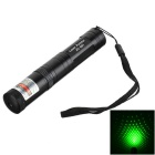 Marsing 851 High Power 5mW Green Starry Sky Laser Pointer Pen - Black