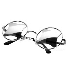 Retro Hollow-out UV400 Protection Sunglasses - Silver + Mercury Color