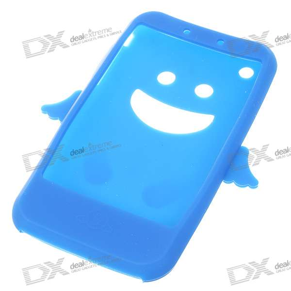 Angel Style Silicone Case for Iphone 3g/3GS (Blue)