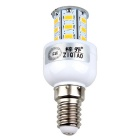 ZIQIAO YM5703 E14 3W LED Warm White Bulb - White + Yellow (AC220~240V)