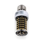 ZIQIAO YM4012 E27 12W LED Warm White Light Bulb - Black (AC 220~240V)