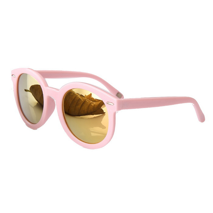 Reedoon 2335 Outdoor Sports Polarized Sunglasses - Pink + Golden