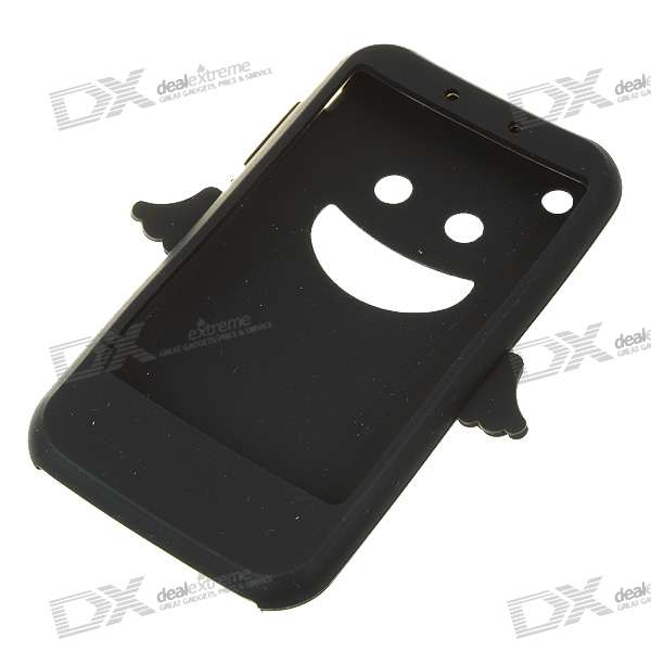 Angel Style Silicone Case for Iphone 3g/3GS (Black)