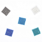 5mm Magnetic Beads Puzzle Toy - Sapphire Blue + Multi-Colored (125PCS)