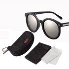 Reedoon 2335 Outdoor Sports Polarized Sunglasses - Black + Silver