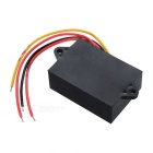 AC 36V (14V~38V) to DC12V 2A24W Car Step-down Power Converter - Black