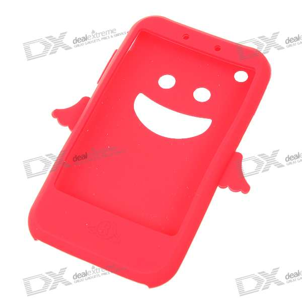 Angel Style Silicone Case for Iphone 3g/3GS (Red)