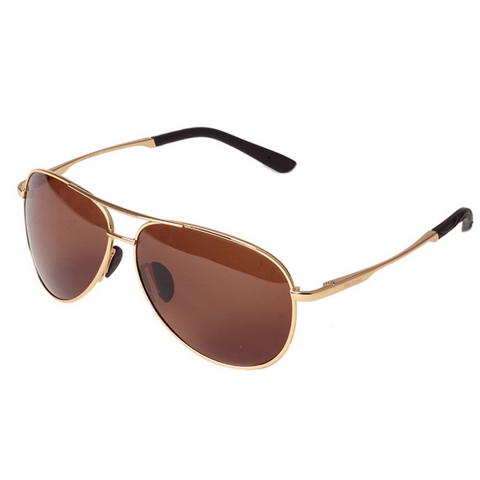 Reedoon 1310-1 UV400 Protection Polarized Sunglasses - Golden + Tawny