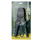 WENTE Wire Crimper red de cable alicates que prensan - Negro + Jade Verde