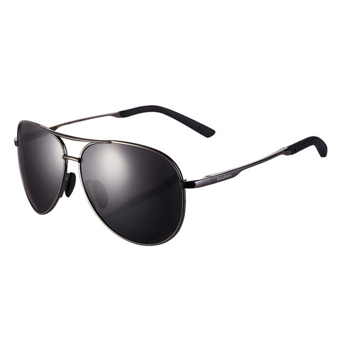 Reedoon 1310-1 UV400 Protection Polarized Sunglasses - Gun Color