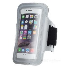 "Outdoor Sports Arm Bag / Armband Case for 4.7"" Below Phone - Silver"