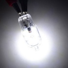 G4 2W LED Cold White Light Bulb - Transparent + Silver (DC12V / 10PCS)