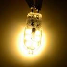 G4 2W LED Warm White Light Bulb - Transparent + Silver (220V / 10PCS)